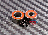 Abec-7 Hybrid Ceramic Bearings For Shimano Baitrunner 3500a Saltwater Spinning