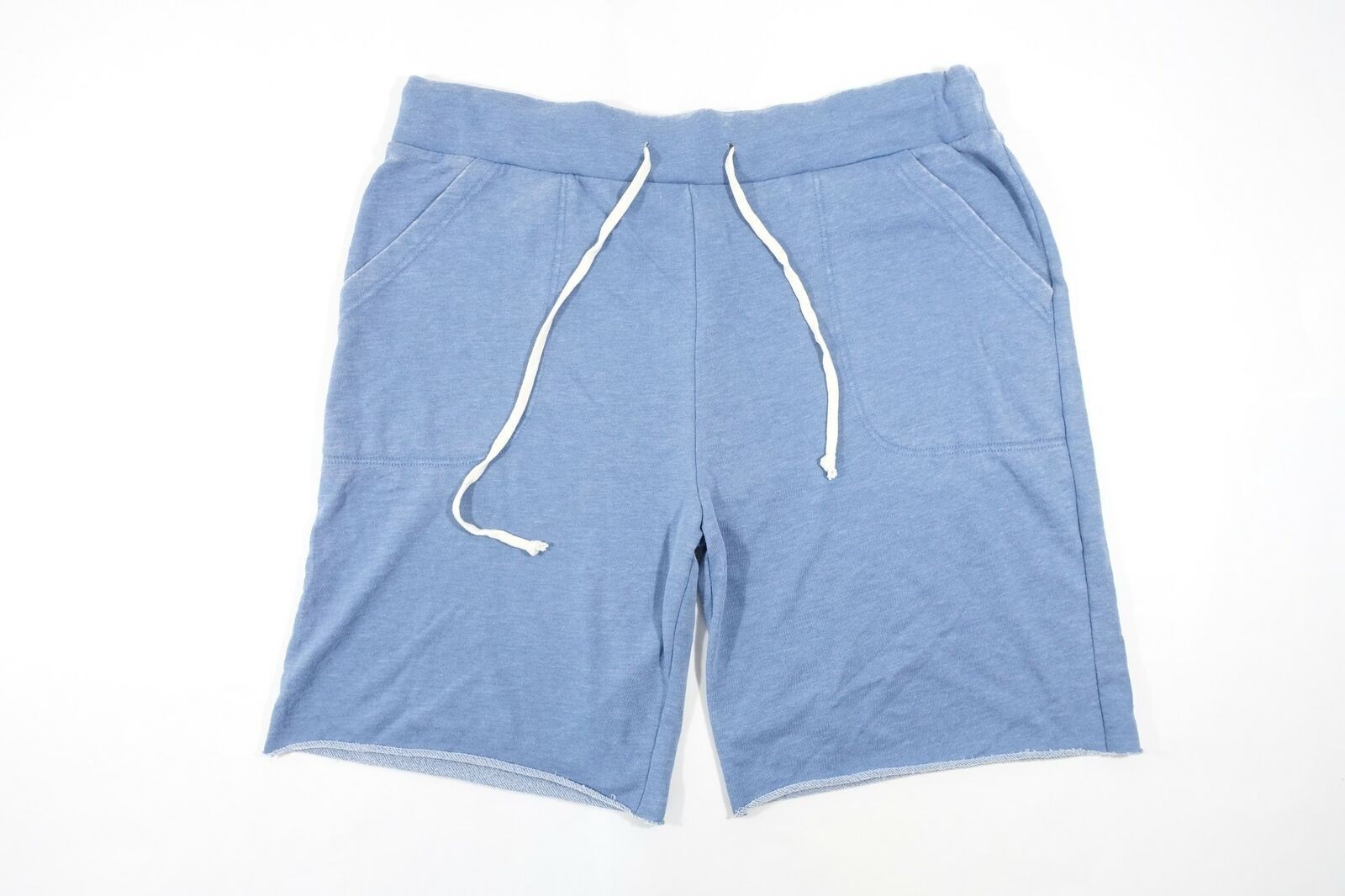 ALTERNATIVE APPAREL FADED DYED LIGHT BLUE 38 40 2XL ACTIVE SWEAT SHORT MENS NWT