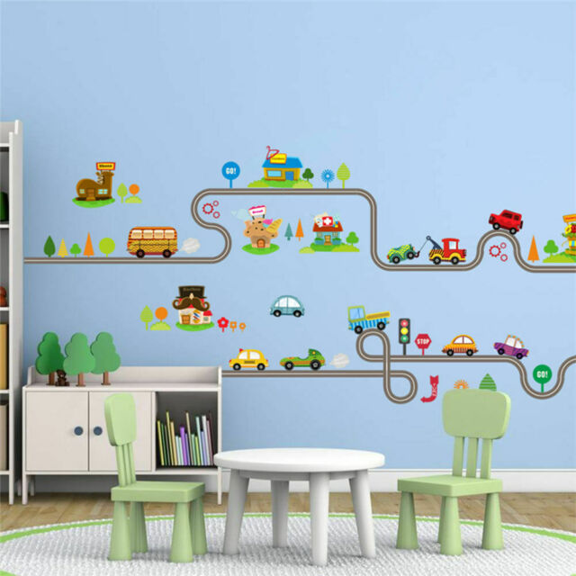 Wall Wall Sticker Wall paper For children room Remove easily Bedroom 90*30cm