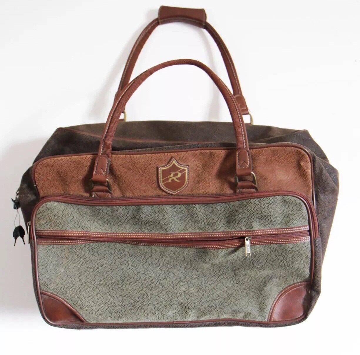 e469dc9caa Jaguar Collezione borsone borsa valigia viaggio vintage Borsa travel trolley  pelle