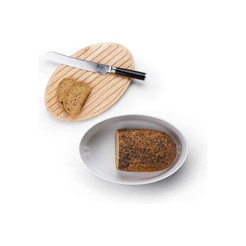 Continenta brottopf Ovale Avec Chaud 27 x 20 x 13,5 cm pain Planche à découper