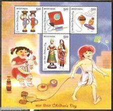 India 2010 Children's Day  Phila-2649 M/s MNH