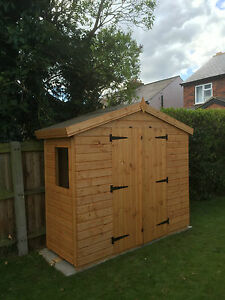 image is loading 8 x 3 garden shed storage unit 13mm - Garden Sheds 8 X 3