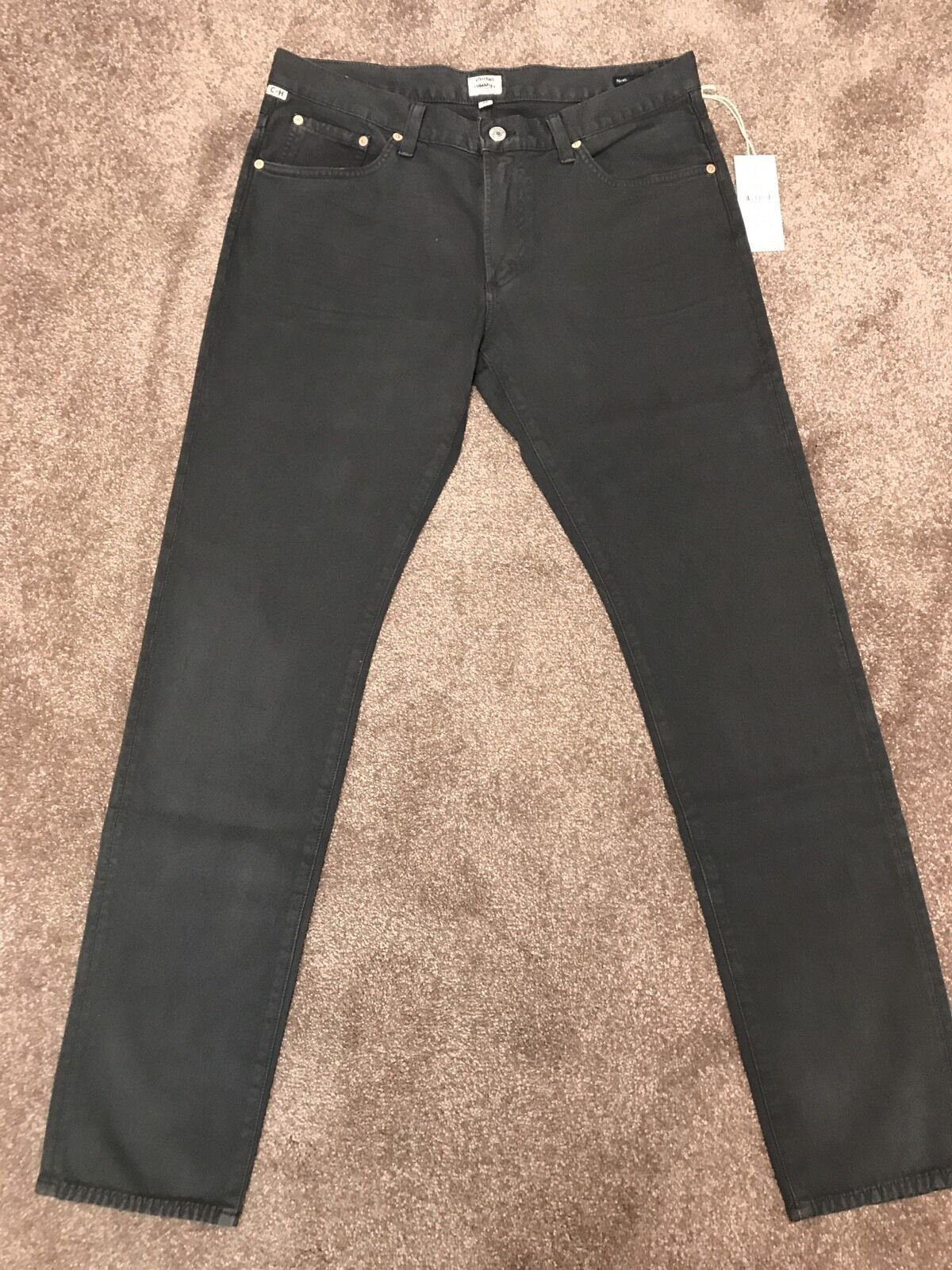 Citizens of Humanity Noah Skinny Anthracite jeans Größe 34 BNWT