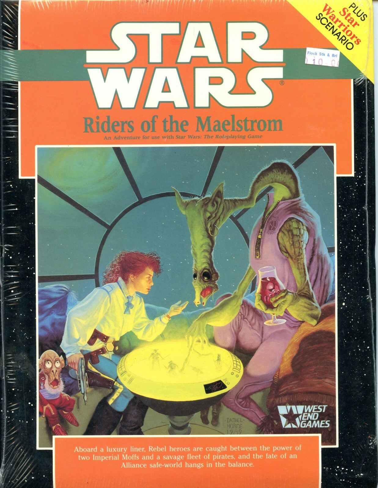 STAR WARS RIDERS OF THE MAELSTROM SEALED IN SHRINK  WEST END GAMES