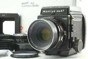 Nuovo-di-zecca-con-scatola-Mamiya-RB67-Pro-SD-con-Sekor-C-127mm-F-3-8-dal-Giappone