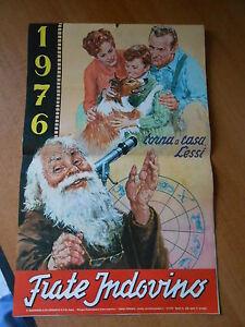 Calendario Frate Indovino Ebay.Dettagli Su Calendario Frate Indovino 1976 Torna A Casa Lessi