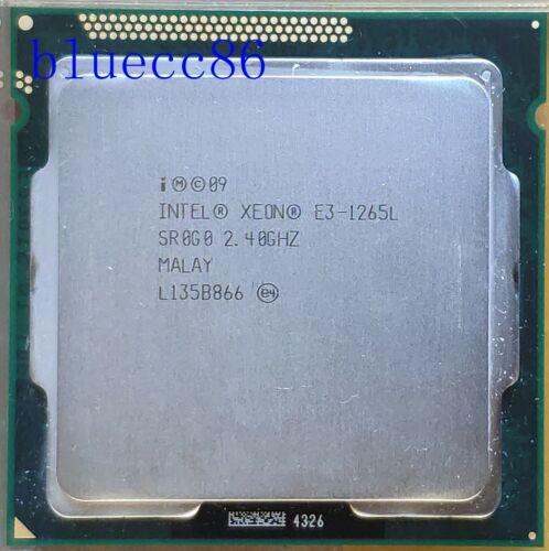 Intel Xeon E3-1265L 2.4GHz Quad Core CPU SR0G0 LGA1155 45W CPU  Processer
