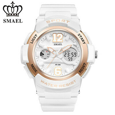 SMAEL Women Sport Watch Digital Dual Electronic Wristwatch Fashion Students Gift