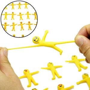 5pcs-Anti-Stress-Squeeze-gelben-Kerl-Neuheit-amp-Gag-Spielzeug-DekompressionSpassG3D