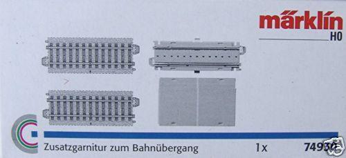 Märklin 74930 Zusatzgarnitur zum Bahnübergang #NEU OVP#