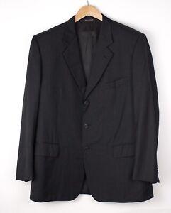 Corneliani Herren VOGUE Wolle Freizeit Formell Jacke Blazer Größe 54 ARZ374