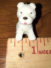 Barbie White Puppy Tongue Out Miniature Schnauzer Dog Pet Animal Accessory