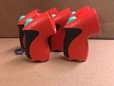 Lot 6  Garrity Life Lite Flashlight  Red Black   LL10g part # 2732 tested