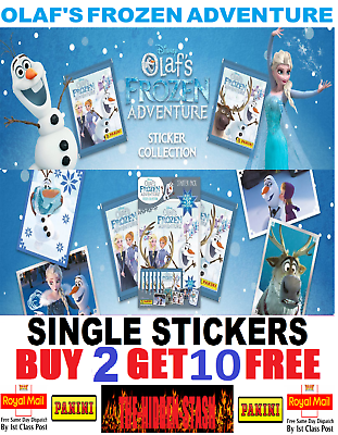 OLAF/'S FROZEN ADVENTURE X5O LOOSE STICKERS