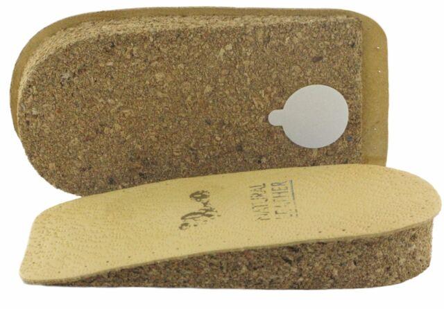 Men /& Ladies Cork Heel lifts 3.0 cm