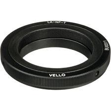 Vello Lens Mount Adapter - T Mount Lens to Nikon F Mount Camera