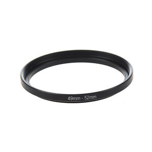 Camera-Replacement-Metal-49mm-52mm-Step-Up-Filter-Ring-Adapter-AD