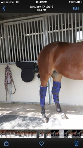 Details about  /FREEDOM Ice Wraps Full-leg Ice Boot Front//Hind Knee Hock One-Single Horse