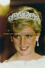 mm566 - Princess Diana  wears Spencer tiara   - Royalty photo 6x4""
