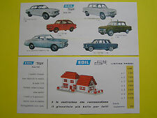 Reproduction Catalogue EDIL TOYS ALFA ROMEO FIAT LANCIA