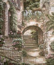 Betsy Brown: Bella Italia Fertig-Bild 55x70 Wandbild Dörfer Romantik Nostalgie