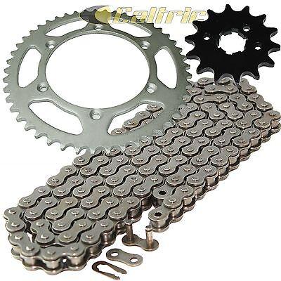 Drive Chain /& Sprocket Kit Fits KAWASAKI KX250 1987-1989 KX500 1987-2004