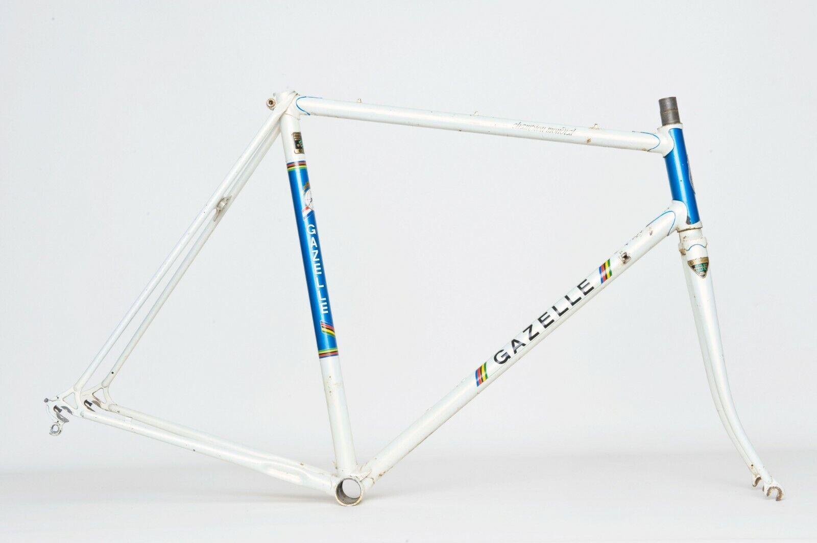 Vintage Gazelle Champion Mondial a-frame rahmenset 57,5cm.