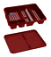 Dish-Drainer-with-Drip-Tray-Plate-Rack-High-Grade-Plastic-Cutlery-Holder-Kitchen thumbnail 14