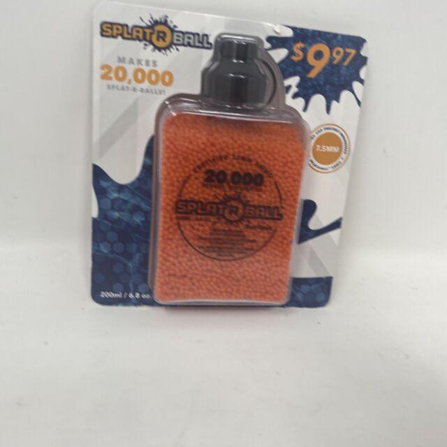 Splat R Ball Water Bead Blaster 20k Refill Pack Ammo Splatrball Splatter Ball