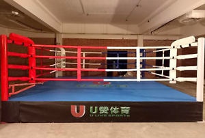 23'x23' Commercial Boxing Ring Pro MMA Cage UFC Octagon Wrestling Mat 529 sqft