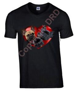 French-Bulldogs-in-Heart-Tshirt-T-shirt-V-or-Crew-Neck-Birthday-Gift