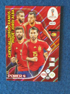 Details about Panini Adrenalyn XL World Cup Russia 2018 - Power 4 Spain #403