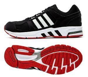 Détails sur Adidas Hommes Equipment 10 Chaussures De Course Noir Rouge Baskets Décontractées Chaussure EF1391- afficher le titre d'origine