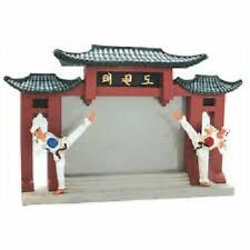 Karate Martial Arts Picture Frame Stand Photo Gift Display Figures Figurine
