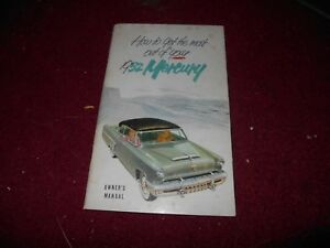1952 MERCURY MONARCH MONTEREY NICE USED ORIGINAL FACTORY OWNERS ...