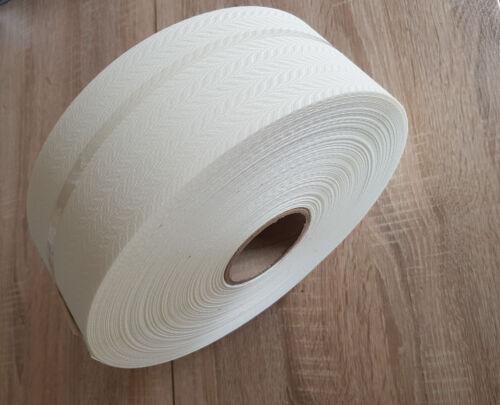 """100 M Vertical Store Tissu 89 Mm tonneau complet featherweave Crème 3.5/"""""""