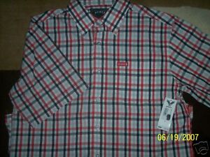 Avirex-NWT-Button-Front-Shirt-Size-M-RV-40-NEW