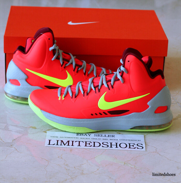 nike zoom kd / 5. elite rote maryland ix - elite 5. der usa bhm all - star - weihnachten - id e36fa7