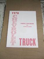 1970 Chevrolet Truck Wiring Diagram Booklet