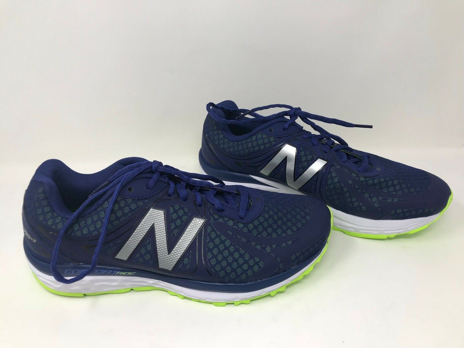 New  Men's New Balance Comfort Ride bluee Yellow SZ 8.5 M720RN3 J9