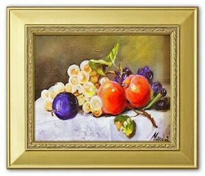 Painting-034-Fruit-034-Handmade-Oil-Painting-Picture-Oil-Frame-Pictures-G03394