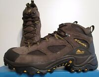 Mens 9-12 Columbia Coretek Wp Waterproof Hiking Trail Omni Grip Shoes Boots