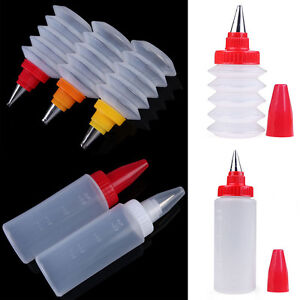 Reusable Squeeze Bottle Sauce Bottle Nozzle Cake Cupcake Pastry Decorating Tool