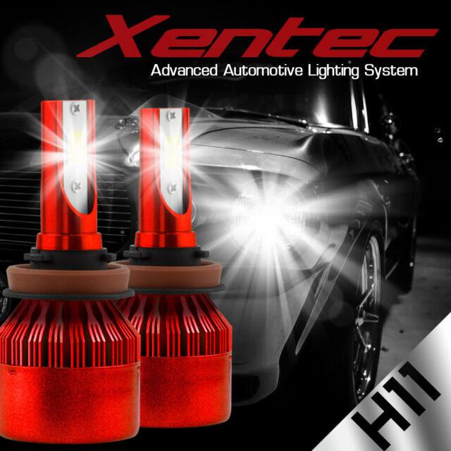 XENTEC LED HID Headlight Conversion kit H11 6000K for Hyundai Elantra 2007-2016