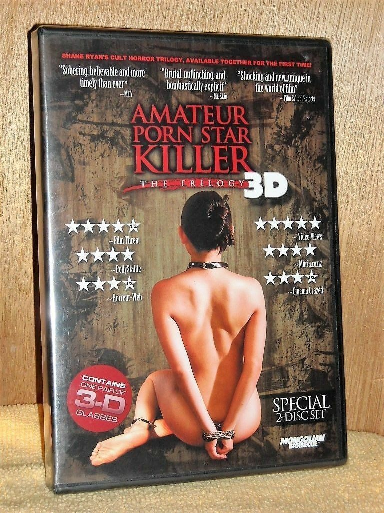 Amateur Porn Star Killer amateur porn star killer: the trilogy 3d (dvd, 2012, 2-disc set) new cult  horror