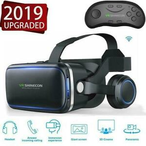 3D-SHINECON-6-0-Brille-fuer-virtuelle-Realitaet-Movie-Headset-Bluetooth