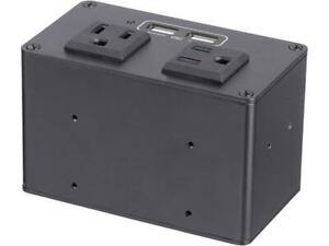 StarTech-com-MOD4POWERNA-Power-Outlet-Module-for-Conference-Table-Connectivity-B