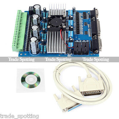 CNC TB6560 4 Axis 3.5A Stepper Motor Driver Board Controller 4 Engraving Machine