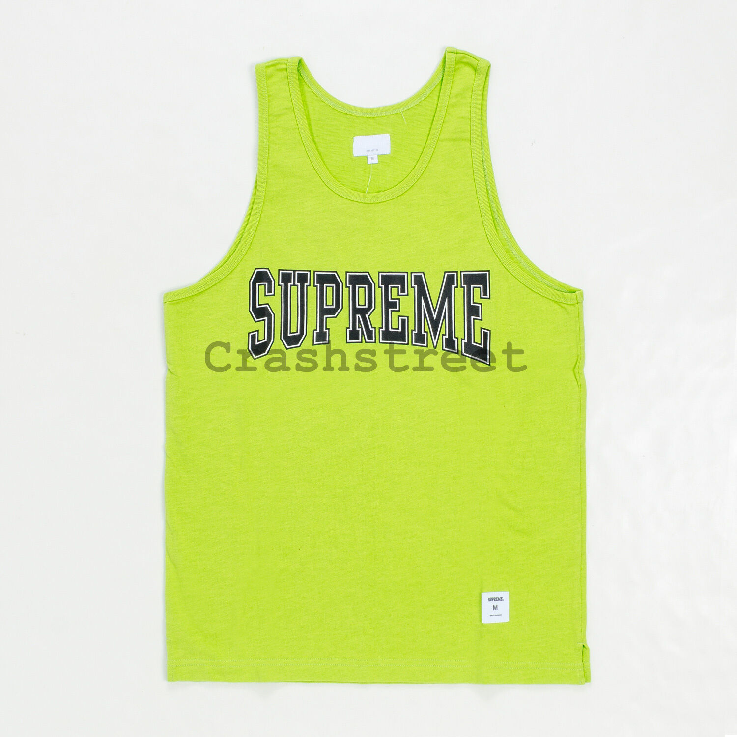 Supreme SS15 Collegiate Box Logo Tank Top Tee - Grün